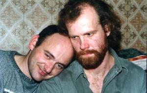 С Сашей Гинзбургом Петрозаводск 2000