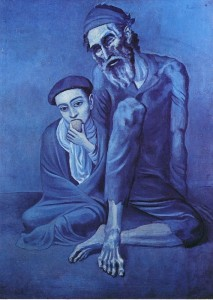 пикассо старый еврей